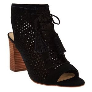 NWOT Marc Fisher Satire Perforated Bootie